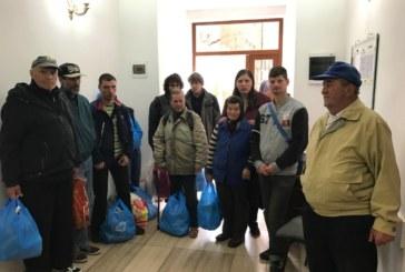 """Peste 90 de familii ajutate în prag de Paști, de Asociația """"Filantropia Ortodoxă"""", filiala Bistrița-Năsăud"""