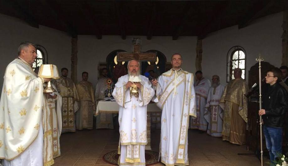 Sfânta Liturghie și Pomenirea Eroilor la Mănăstirea Muntele Rece