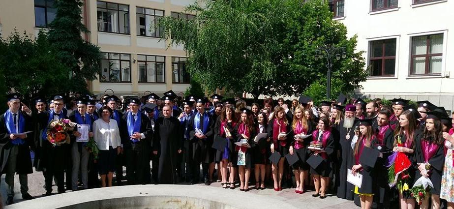 O nouă generație de absolvenți la Seminarul Teologic Ortodox din Cluj