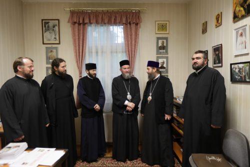 Vizită frăţească şi slujire la românii ortodocşi din Ungaria