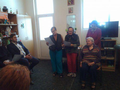 """Schimb de experiență la Centrul de Îngrijire și Asistență """"Sf. Nicolae"""" Mociu"""