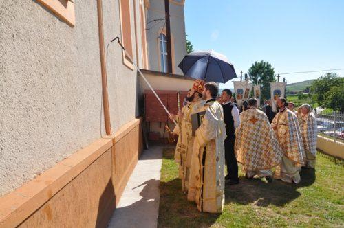 Resfințirea bisericii din Parohia Măeriște, Episcopia Sălajului