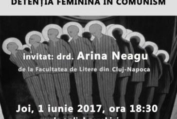 """Conferință """"Despre prigonire la persoana întâi: detenția feminină în comunism"""""""