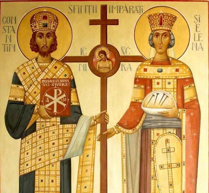 Programul slujirii ierarhilor, la sărbătoarea Sfinților Împărați Constantin și Elena