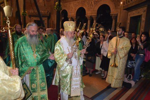 Sărbătoarea Rusaliilor, la Catedrala Mitropolitană din Cluj