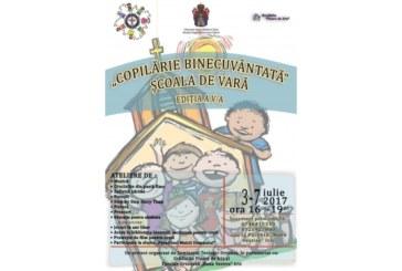 """Şcoala de vară """"Copilărie binecuvântată"""", la Cluj-Napoca"""