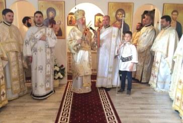 Punerea pietrei de temelie a bisericii Parohiei Sf. Iustin Martirul și Filozoful