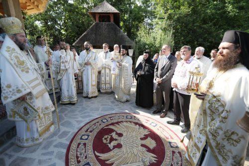 Hramul Mănăstirii Ţeghea