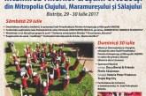Întâlnirea Tinerilor Creştini Ortodocşi din Mitropolia Clujului, Maramureşului şi Sălajului, Bistrița, 29-30 iulie 2017