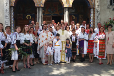 Instalarea noului preot slujitor, în Dâmbul Rotund