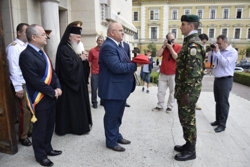 Ziua Drapelului Naţional, sărbătorită la Cluj-Napoca