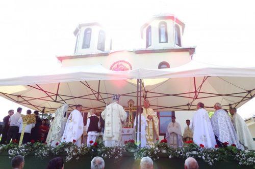 Sfințirea bisericii din Boian