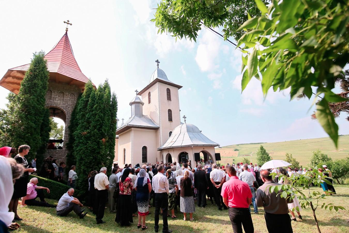 Hramul Mănăstirii de la Soporul de Câmpie