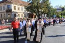 Procesiunea Bucuriei pe străzile Bistriței