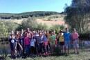 """Activități ale tinerilor din grupul """"Preotul Luca Zugravul"""" din Iclod"""