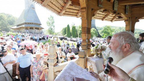 Sobor de 8 Ierarhi la hramul Mănăstirii Bârsana