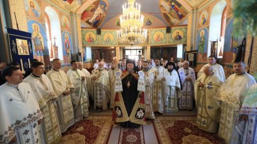 Târnosirea bisericii din Româneşti, Protopopiatul Satu Mare