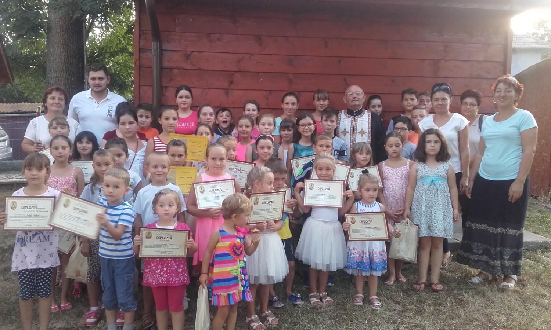 Școală de vară în parohia Mociu, ediția a II-a