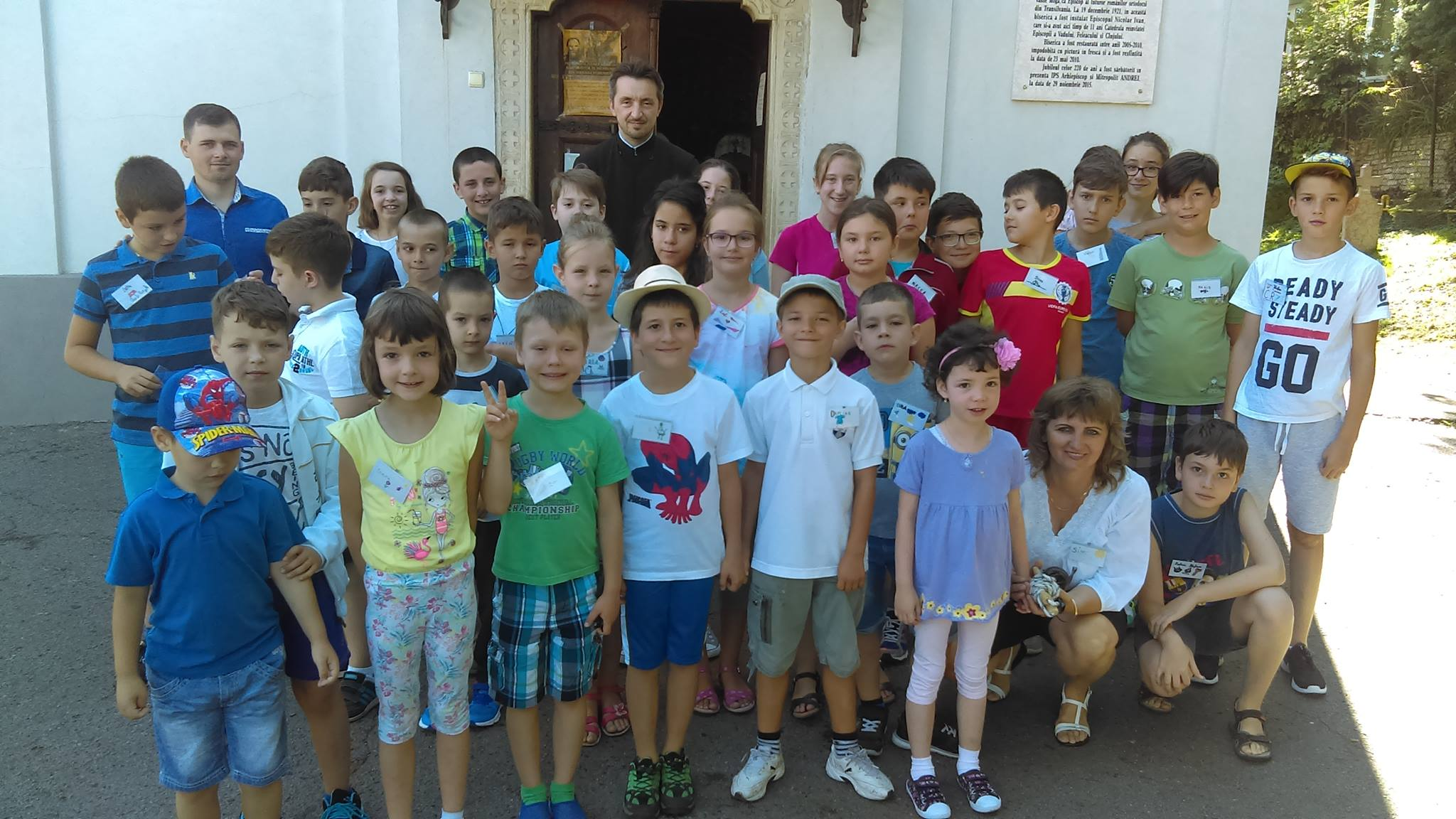 """Impresii din """"Universul copiilor"""", săptămâna de vară dedicată copiilor Parohiei """"Sfânta Treime"""""""