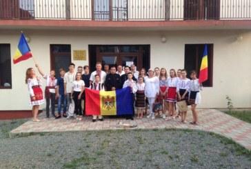 Tineri basarabeni, în tabără la Maieru