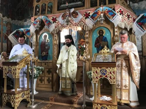 """Sărbătoarea hramului în Parohia """"Schimbarea la Față"""" din Sângeorz-Băi"""