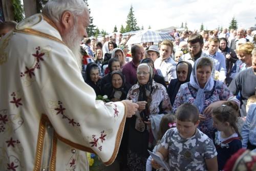 Sfinții Martiri Brâncoveni, cinstiți la mănăstirea de la Mărișel în prezența ÎPS Părinte Andrei