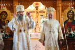 Doi ierarhi au resfințit biserica din Agriș, Protopopiatul Turda