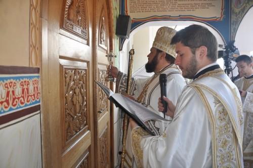 Târnosirea bisericii Mănăstirii Bic