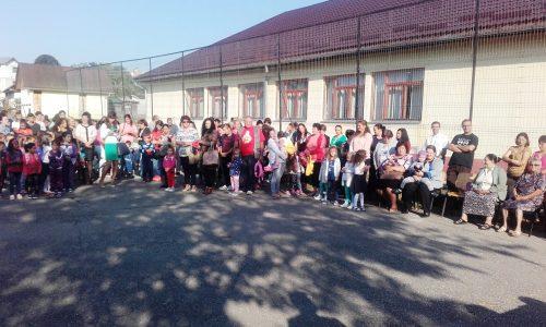 Deschiderea anului școlar, la Mociu
