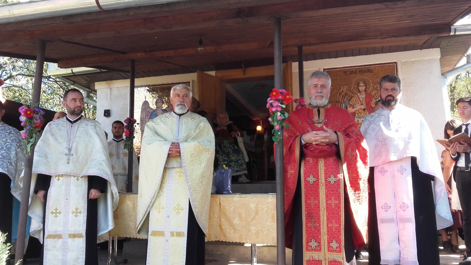 """Praznicul""""Înălțării Sfintei Cruci"""" – moment de bucurie duhovnicească pentru Parohia Făureni din Protopopiatul Cluj I"""