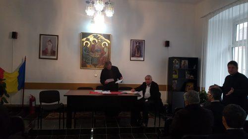 Ședința lunară a preoților din Protopopiatul Bistrița