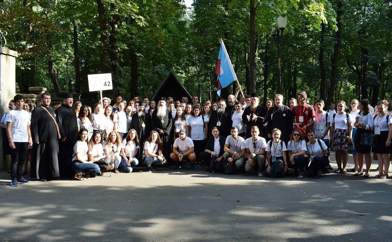 ITO 2017 – Tinerii ortodocși clujeni, pe colina bucuriei Iașilor