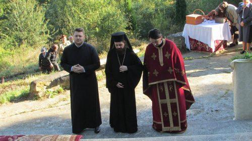 Sărbătoare de praznicul Înălțării Sfintei Cruci la Bobâlna
