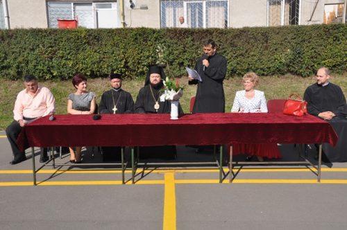 """Festivitatea de deschidere a noului an școlar, la Liceul Ortodox """"Sfântul Nicolae"""" din Zalău"""