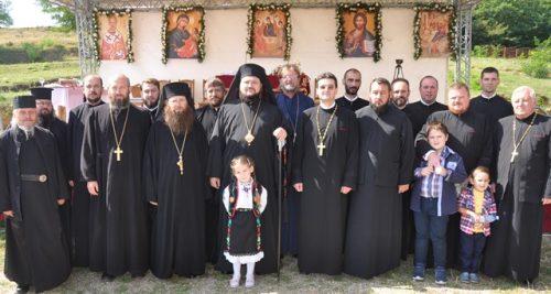 """Hramul Schitului """"Nașterea Maicii Domnului"""" din localitatea Marca"""