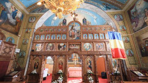 Biserica din Valea Vinului, resfințită de Episcopul Maramureşului şi Sătmarului, la peste 130 de ani de la construcție
