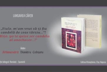 """<span style='color:#B00000  ;font-size:14px;'>Turneu de lansare a cărții:</span> <br> """"Fiule, m'am vrut să-ți fiu candela de ceas târziu…""""!, ediție bilingvă română-spaniolă</p>"""
