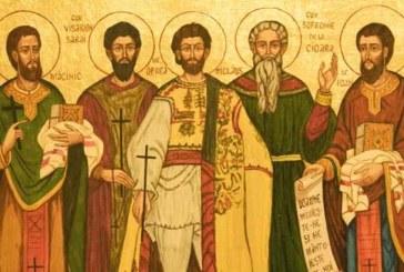 Agenda ierarhilor din Mitropolia Clujului, la sărbătoarea  Sf. Cuvioși Mărturisitori