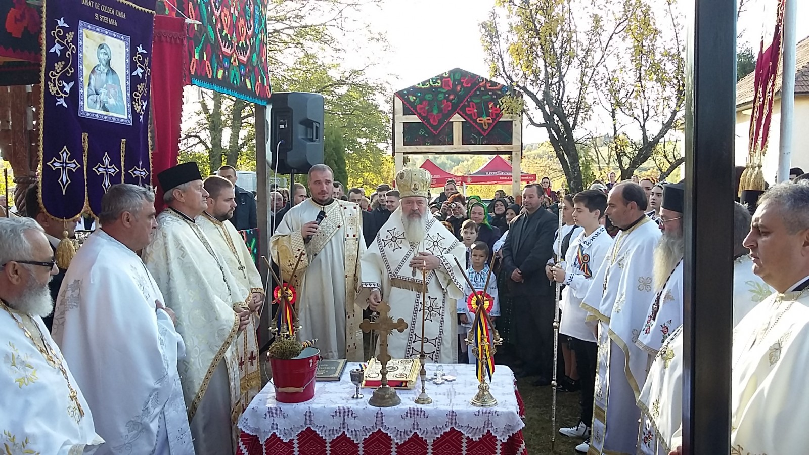 Biserica filiei Mărceşti, resfințită de Mitropolitul Clujului
