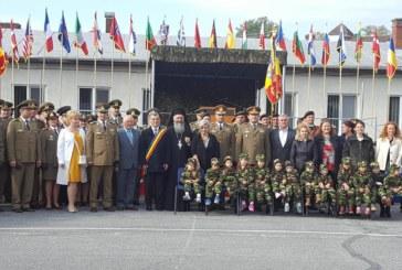 """Arhim. Dumitru Cobzaru, la sărbătoarea Bazei 4 Logistică """"Transilvania"""", Garnizoana Dej"""