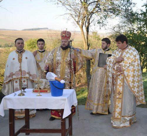 Târnosirea bisericii din localitatea sălăjeană Sântămărie