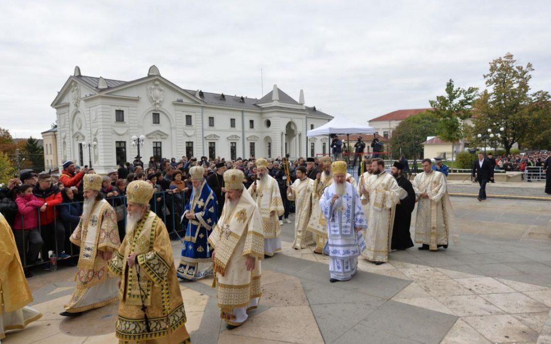 Mitropolitul Clujului, la sărbătoarea Sfintei Cuvioase Parascheva de la Iași