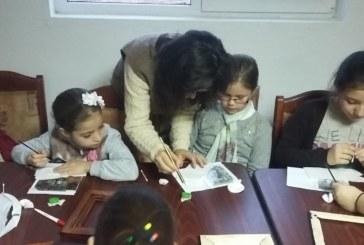 """Proiectul  """"Icoana – cuvânt în culori"""", la Huedin"""