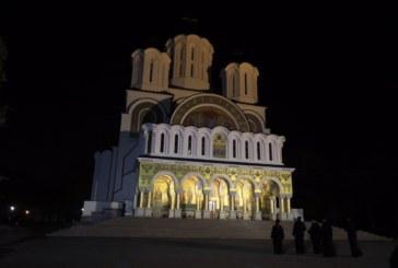 """Preasfinţitul Părinte Iustin la hramul Mănăstirii """"Sfinţii Voievozi"""" Slobozia"""
