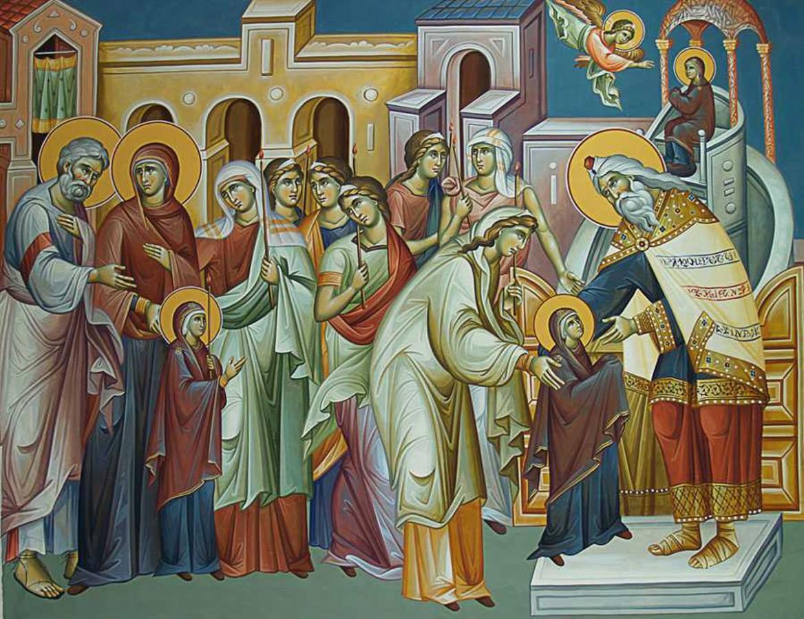 Agenda ierarhilor din Mitropolia Clujului, la  sărbătoarea Intrarea în Biserică a Maicii Domnului