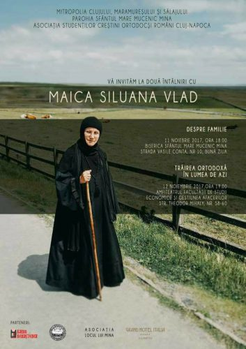Întâlnire cu Maica Siluana Vlad