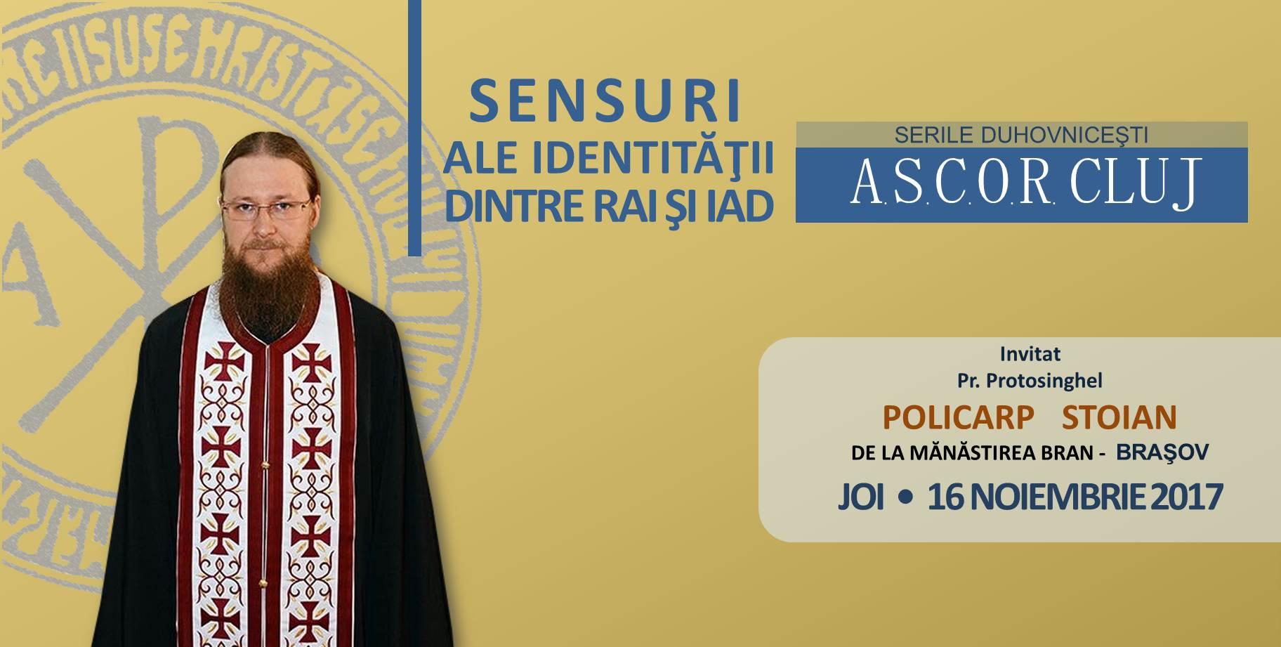 Prima seară duhovnicească A.S.C.O.R. Cluj – Pr. Protosinghel Policarp Stoian