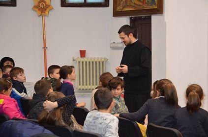 """Activitate educațională, în parohia clujeană """"Pogorârea Duhului Sfânt"""""""