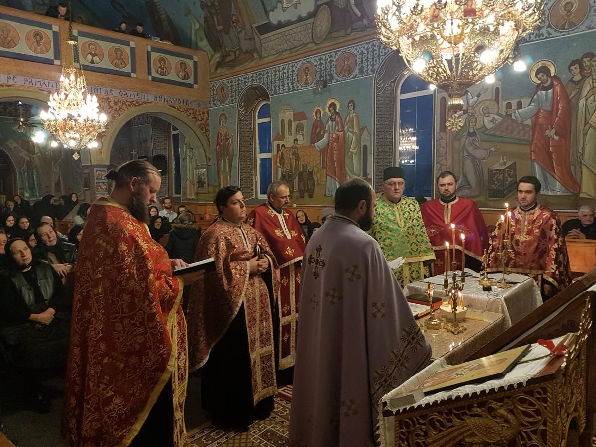 Cerc preoțesc pe Valea Ilișuii, cu ocazia hramului Bisericii din Căianu Mare