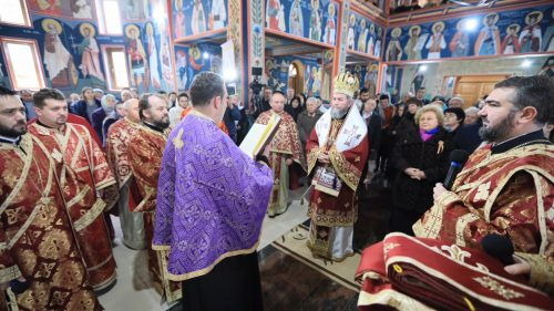 """PS JUSTIN: """"Suntem binecuvântaţi de Dumnezeu să fim printre neamurile chemate la Evanghelie prin Apostolul Andrei"""""""